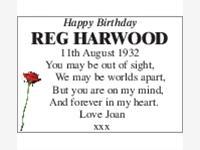 REG HARWOOD photo
