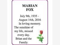 MARIAN FOX photo
