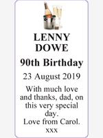 LENNY  DOWE photo