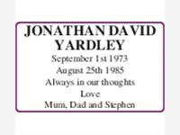 Jonathan David Yardley photo