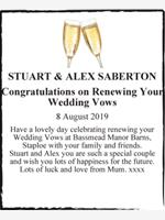 STUART & ALEX SABERTON photo