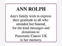 ANN ROLPH photo