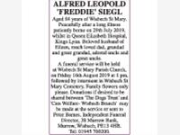 ALFRED LEOPOLD 'FREDDIE' SIEGL photo