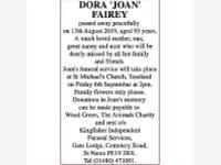 DORA 'JOAN' FAIREY photo