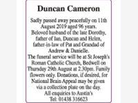 Duncan Cameron photo