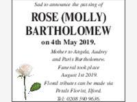 Rose (Molly) Bartholomew photo