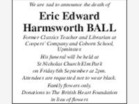 ERIC EDWARD HARNSWORTH BALL photo
