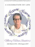 MARY HELEN SANDERS photo