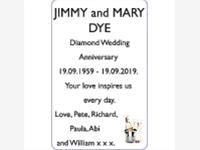 JIMMY and MARY DYE photo