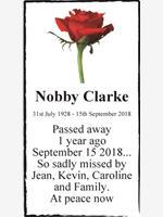 Nobby Clarke photo