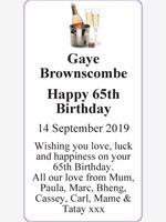 Gaye Brownscombe photo