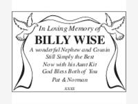 Billy Wise photo