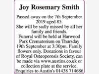 Joy Rosemary Smith photo
