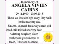 ANGELA VIVIEN CAIRNS photo