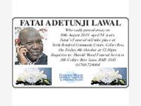 Fatai Adentunji Lawal photo
