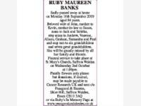 RUBY MAUREEN BANKS photo