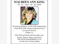 Maureen Ann King photo