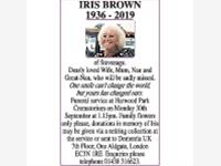 IRIS BROWN photo