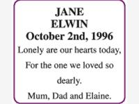 JANE ELWIN photo