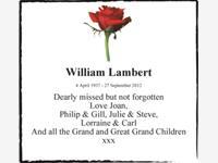 William Lambert photo