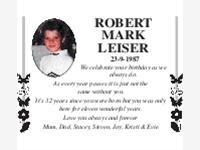 Robert Mark Leiser photo