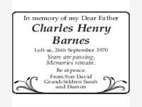 Charles Henry Barnes photo