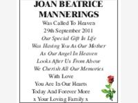 Joan Beatrice Mannerings photo