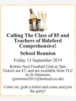Calling The Class of 85 and Teachers of Bideford Comprehensive! photo