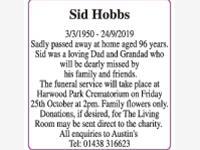 Sid Hobbs photo