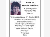 MARTHA ELIZABETH PARKER photo
