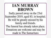 Ian Murray Brown photo
