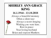 Shirley Anne Grace King photo