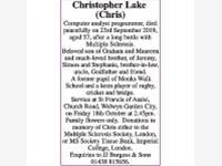 Christopher Lake photo
