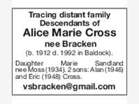 Alice Marie Cross photo