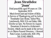 Jean Strathdee photo