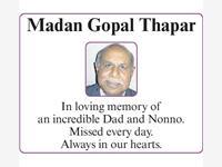 Madan Gopal Thapar photo