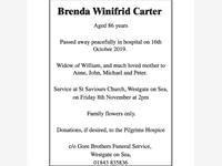 Brenda Winifrid Carter photo