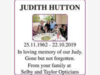 JUDITH HUTTON photo