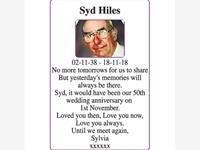 Syd Hiles photo