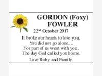 GORDON FOWLER photo