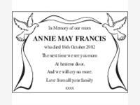 Annie May Francis photo