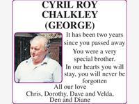 CYRIL ROY CHALKLEY (GEORGE) photo
