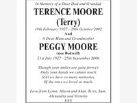 Terence Moore Peggy Moore photo