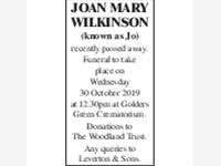 Joan Mary Wilkinson photo