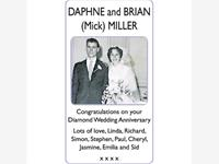 DAPHNE and MICK MILLER photo