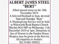Albert Steel 'Bert' photo