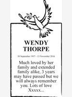 WENDY THORPE  photo