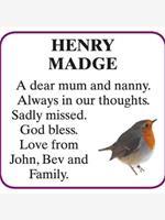 HENRY MADGE photo