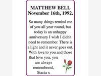 MATTHEW BELL photo