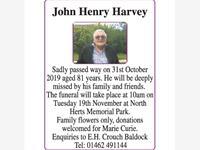 John Henry Harvey photo